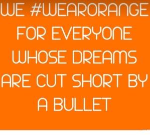 Parkland blog wear orange